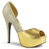 TEEZE-41W Gold Metallic/Glitter